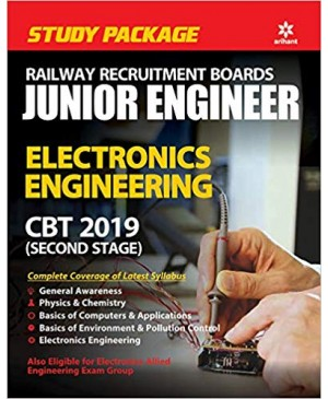 RRB JE (Junior Engineer) Electronics Engineer CBT 2019 (2 Stage) (English Medium) Arihant