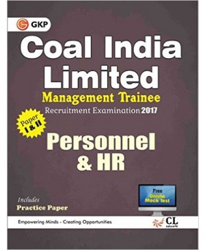 Coal India Limited Management Trainee Personnel & HR 2017