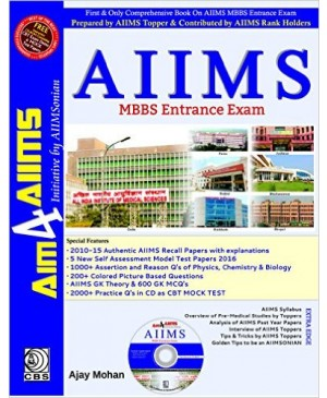 Aim4AIIMS AIIMS MBBS Entrance Exam-CBS Publications