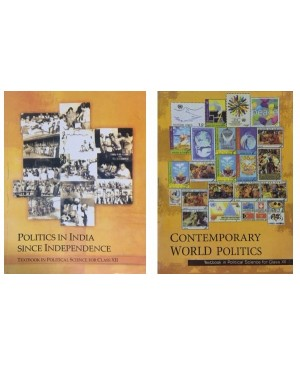 Politics in India since Independence& Contemporary world politics set Textbook in Political Science for Class 12-NCERT
