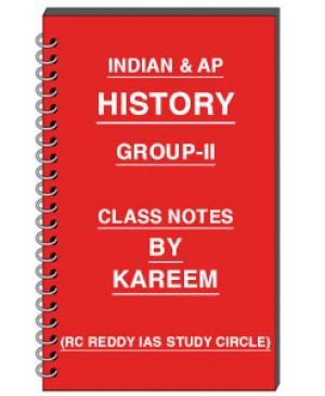 Group 2 History - Class Notes - By Kareem - Telugu Medium - PDF