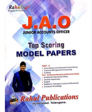 TSSPDCL JAO (Junior Account Officer) Top Scoring Model Papers (English Medium) Rahul Publications