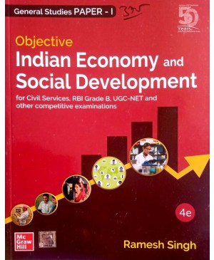 Objective Indian Economy and Social Development  (English, Paperback, Ramesh Singh)