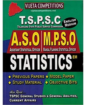 TSPSC ASO, MPSO Statistics (English Medium) Vijeta Competitions 2018