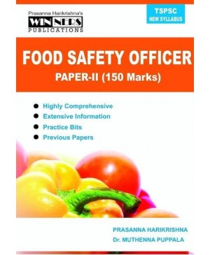 TSPSC Food Safety Officer (Paper 2) (English Medium) Winners Publications 2020