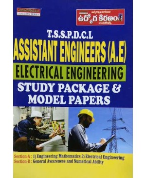 TSSPDCL AE (Assistant Engineers) Electrical Engineering Study Package & Study Material (English Medium) Annapurna Publications