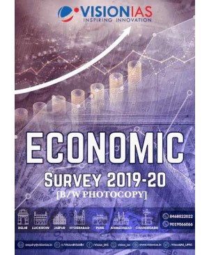 VISION IAS Summary of Economic Survey 2019-20 (2020) (English Medium) Phoyocopy